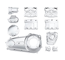 Chrome Engine Kit - Twin Cam
