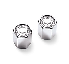 Skull ABS Valve Stem Caps