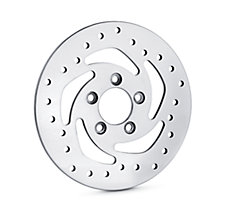 Polished Brake Rotors