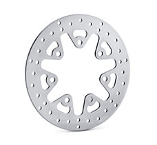Polished Floating Brake Rotor