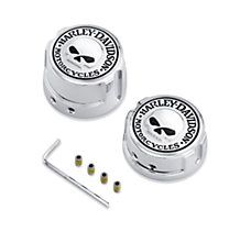 Skull Rear Axle Nut Covers