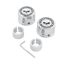 Skull Front Axle Nut Covers