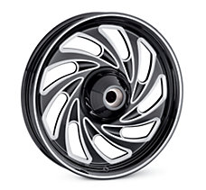Typhoon 17 in. Front Wheel