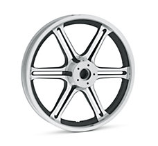 Slotted 6-Spoke 19 in. Front Whe...