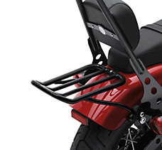 Chopped Fender Luggage Rack