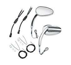Chrome Mirrors with Auxiliary Ru...
