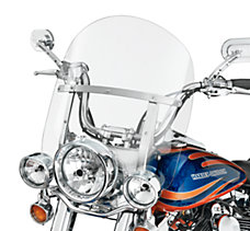 Detach FL Softail Mid Windshield
