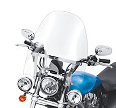 H-D Detachables Compact Windshie...