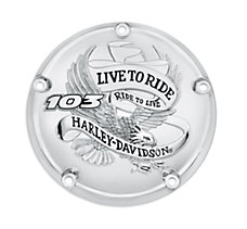 Live To Ride Derby Cover - 103