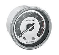 Spun Aluminum Face Tachometer