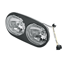 Halogen Headlamp - Clear Smooth ...