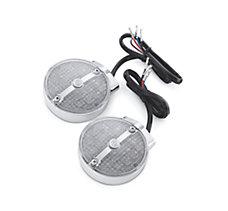 Bar & Shield Rear LED Turn Signa...