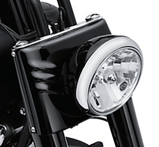 Black Domestic Headlamp Shell