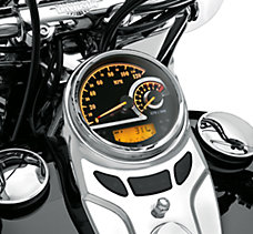 Black Dial Analog Speedometer/Ta...