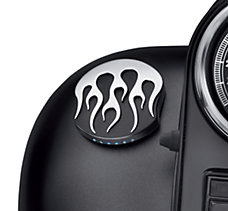 Midnight Flames LED Fuel Gauge