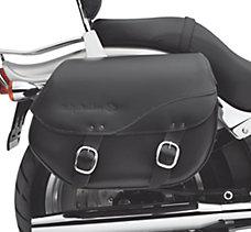 H-D Detachables Leather Saddleba...