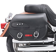 H-D Detachables Leather Saddleba...