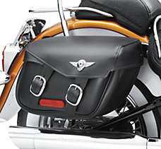 Softail Leather Saddlebags