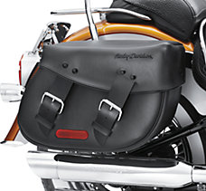 Synthetic Leather Saddlebags-Sof...