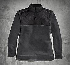 Colorblock 1/4 Zip Fleece
