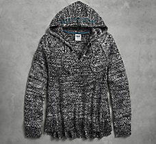 Shimmer Hooded Sweater
