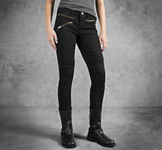 Skinny Moto Low-Rise Jeans