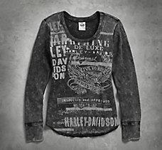 Mineral Wash Waffle Knit Shirt