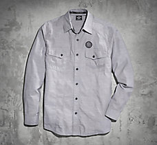 Skull & Dagger Striped Shirt