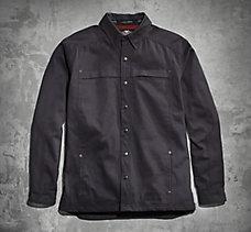 Plaid 1903 Skull Shirt Jacket