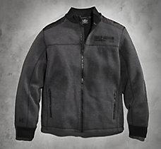Heavyweight Zip-Front Fleece