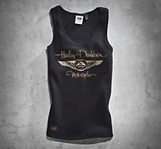 110th Metallic Print Tank