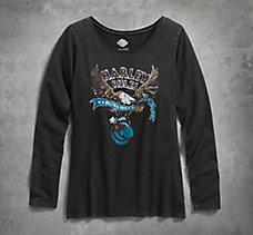 Harley Rules Eagle Tee