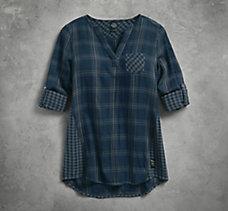 Double Cloth Shirt Dress