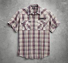 H-D V-Twin Plaid Shirt