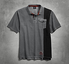 SYN3 Distressed Polo