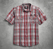 H-DMC Plaid Shirt