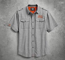 Textured Slub Weave Shirt