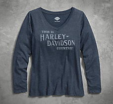 Harley® Country V-Neck Tee