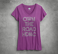 Own the Road V-Neck Tee