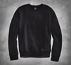 Moto-Inspired Sweatshirt