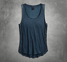 Zipper Accent Tank