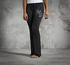 Chain Accent Activewear Pant