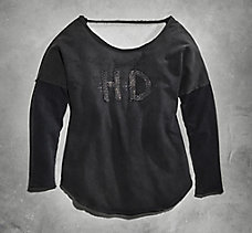 Chain H-D Two-fer Tee