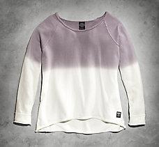 Ombre Pullover Sweatshirt
