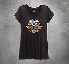 Knuckleheads 1936-1947 V-Neck Te...