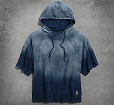 3/4 Sleeve Dolman Pullover Hoodi...