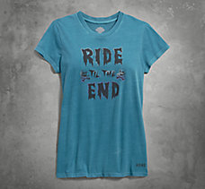 Ride Til the End V-Neck Tee