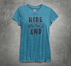 Ride Til the End V-Neck Tee