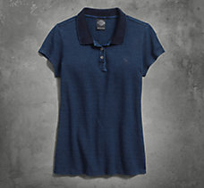 Indigo Dyed Polo
