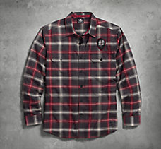 Shadow Eagle Plaid Shirt
